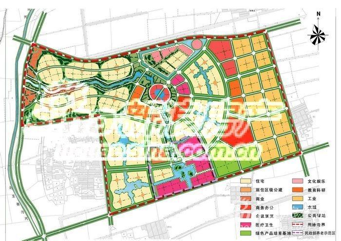 卓达津门新城规划图