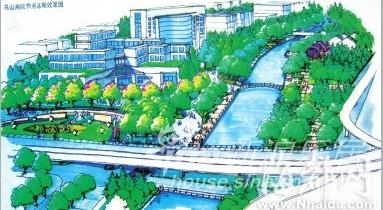 河广大道线路图-白马河步行道 路线图抢先看图片