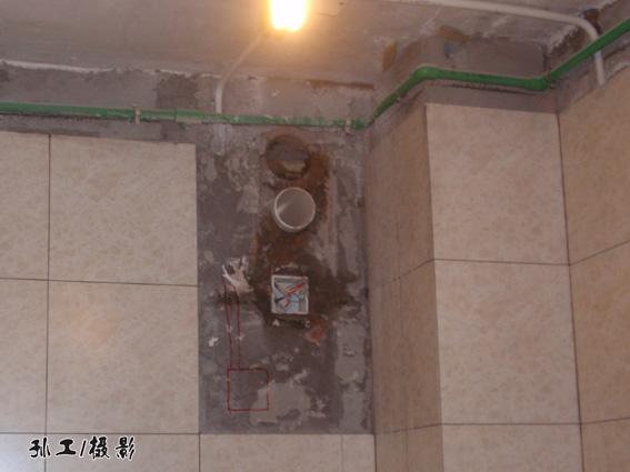 44  为当空,排风口重行破土,吊顶也到底上顶