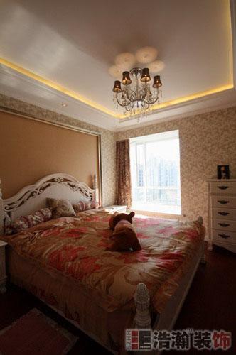 90平欧式奢华小居一样绝美,中海国际实景图高清图片
