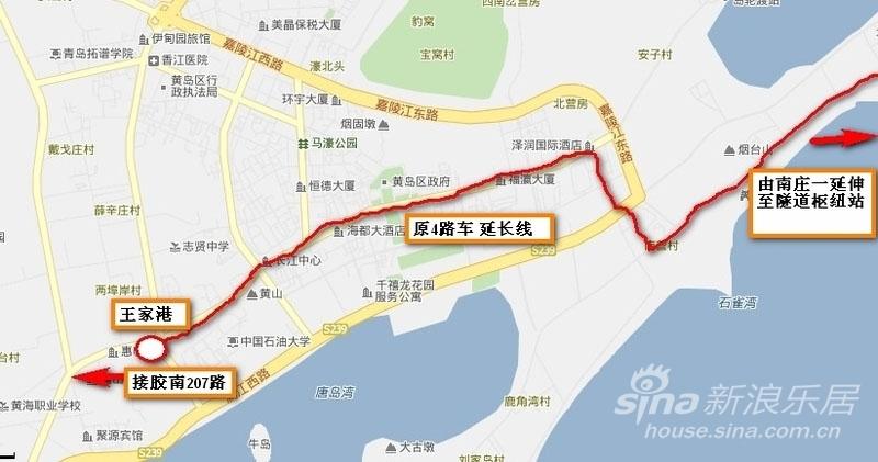 史上最全面详细的海底隧道 青岛 黄岛公交车 具体路线 站点图,有图有