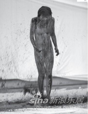 梦想被绑架的年代 苏紫紫裸体艺术展(图)-新浪