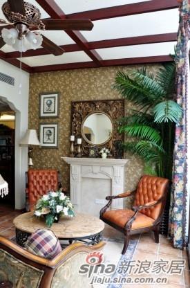 洗手间墙身选用的古典拼花图案、沉稳高贵和富丽堂皇的各式装高清图片
