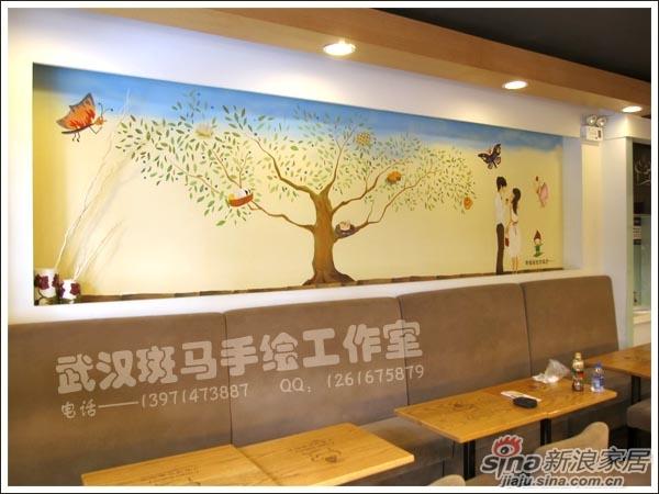 【酒店、酒楼等餐饮场所手绘墙,墙体彩绘壁画系列】