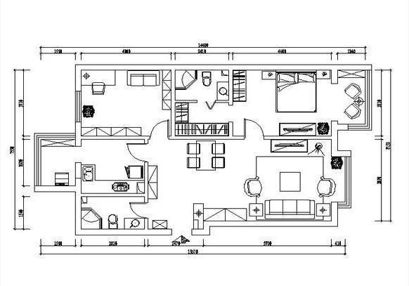 崇尚美式古典韵味 打造90平舒适休闲的美式家居生活