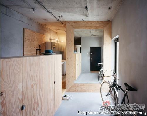 【转载】毛坯房直接入住 钢筋混凝土的公寓空间设计论坛 新浪装修家居网论坛