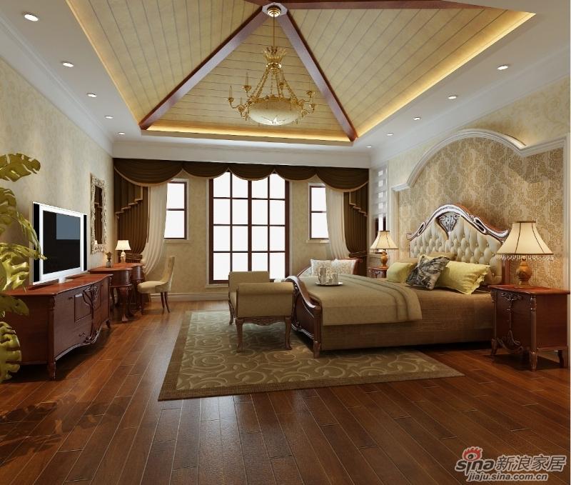 240平米简约别墅 华贵的欧式装修的设计元素别墅装修