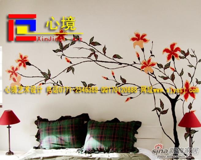 时尚墙体彩绘,让你的家更时尚 温馨