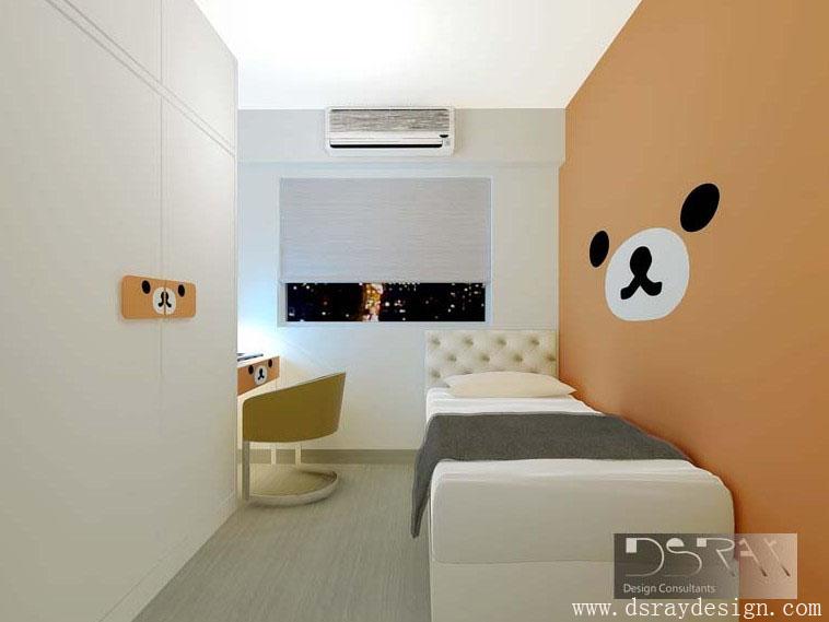 儿童房室内装修效果图高清图片