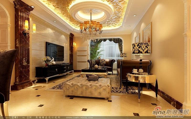 148平古典奢华版欧式风格3居室