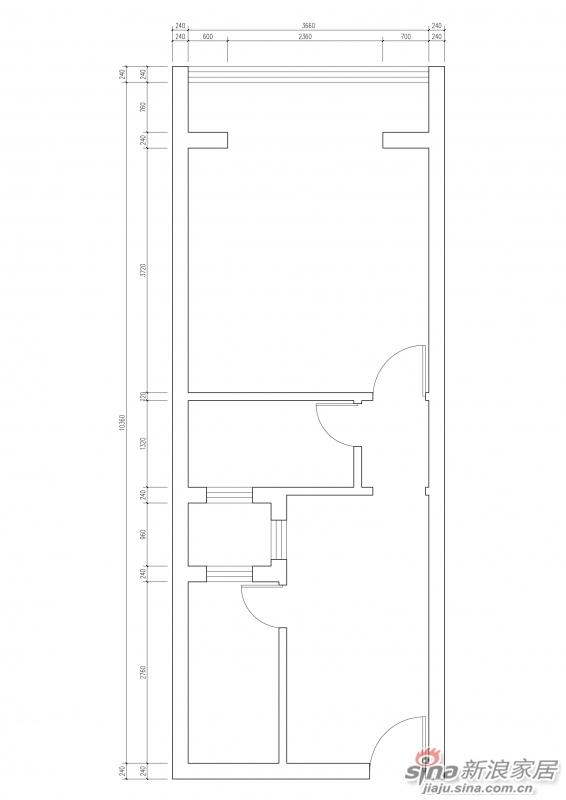 5口之家的45平米小户型装修日记