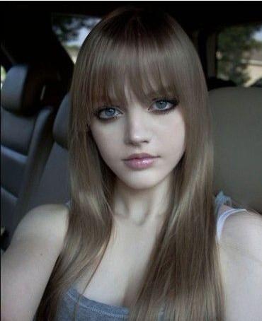 酷似真人版芭比的16岁校园美少女