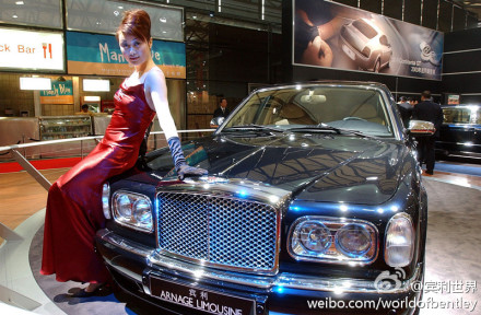 bentley mulliner顶级造车工艺的宾利雅致728超级豪华轿车!10高清图片