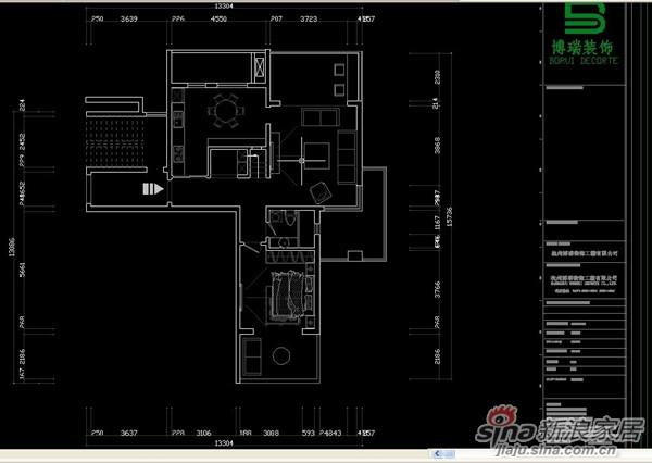 博瑞引您回家 风雅乐府主力户型博瑞倾力打造家居设计高清图片
