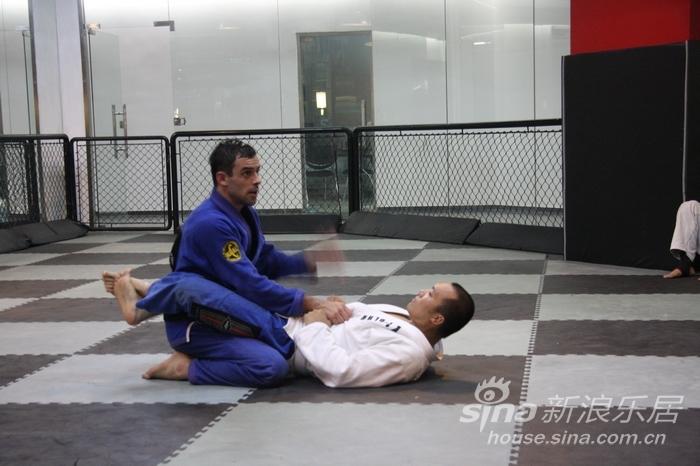 在K1英雄馆学巴西柔术图片