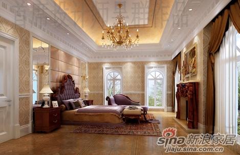 财富公馆1800平米法式奢华风格别墅设计图片