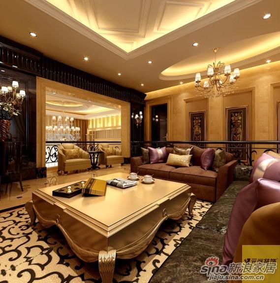 圣晖花园260平米独栋别墅新装饰主义风格设计实景案例