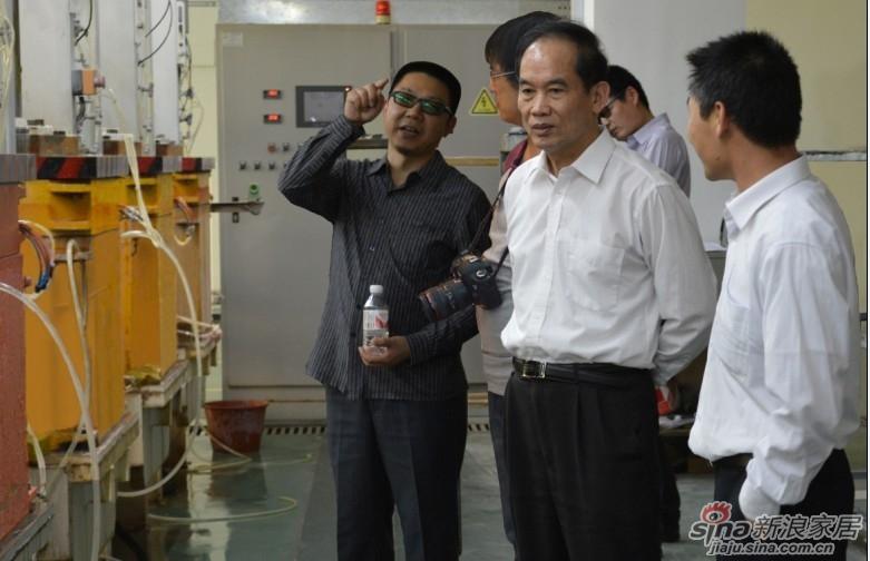 中国陶瓷协会秘书长黄芯红到访航标卫浴
