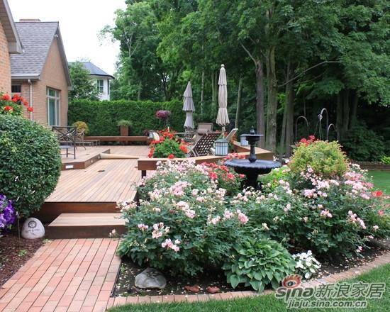 界各国不同风格别墅庭院景观设计美式别墅庭院 法式别墅庭院 中式别图片