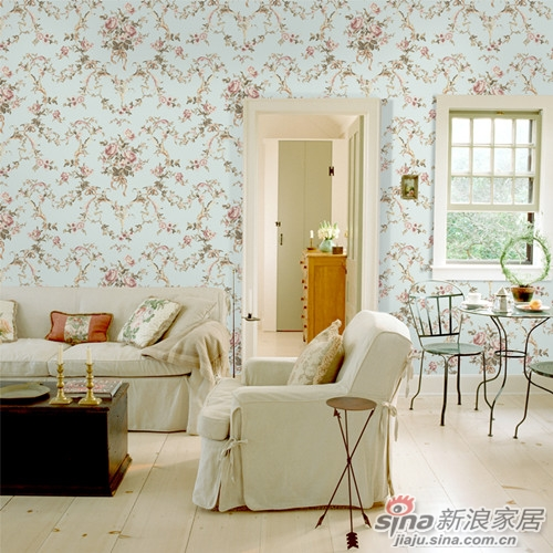 中国高端墙布领导者 领绣刺绣无缝墙布