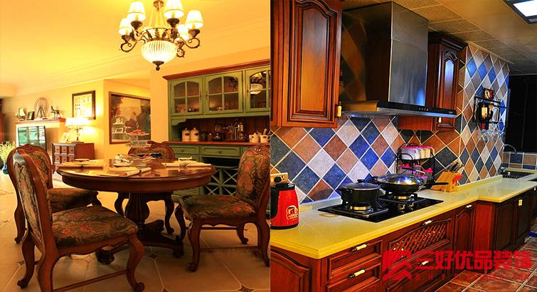 惬意美式乡村风格,让高层装修出别墅感觉高清图片