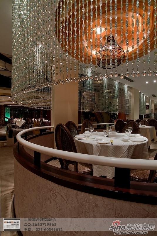 泰式餐厅装修高清图片