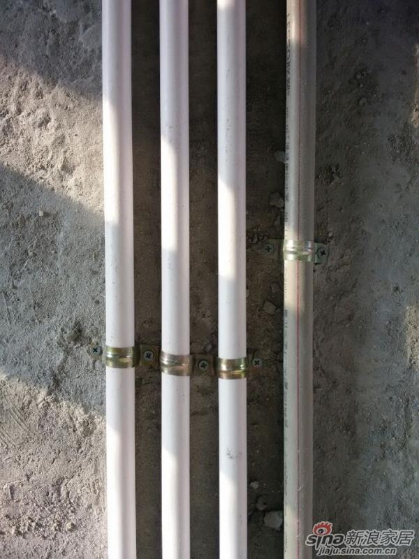 3栋2704房水电装修施工图片高清图片