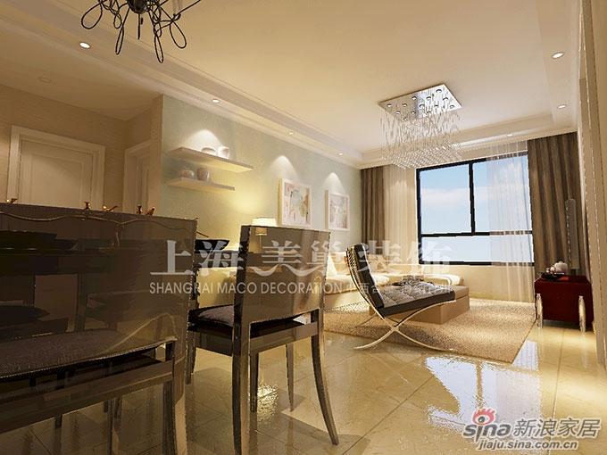 5万正商铂钻88平两室两厅现代简约装修够吗高清图片