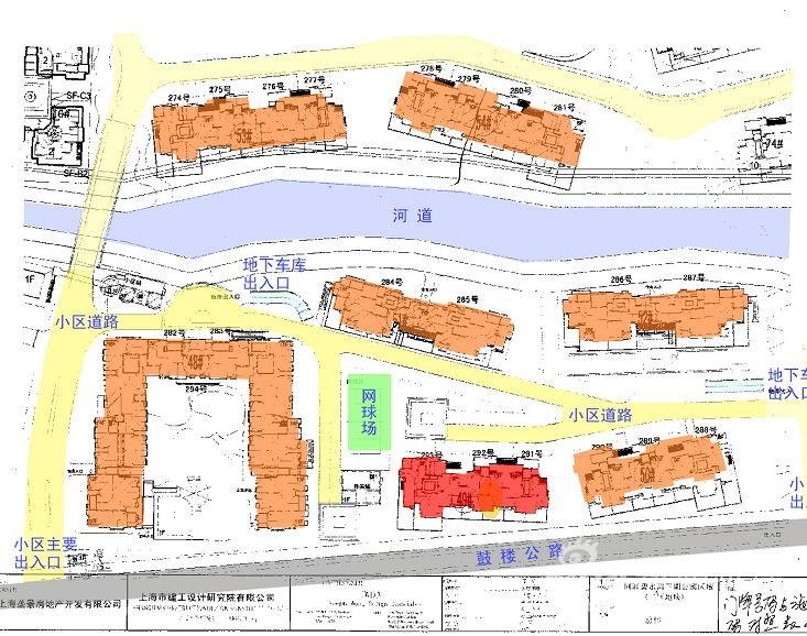 给大家看看同润菲诗艾伦小区的平面图 新浪乐