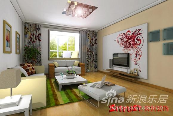 4万元精装修 紫金新干线 90平米房屋 现代简约 宁静高清图片