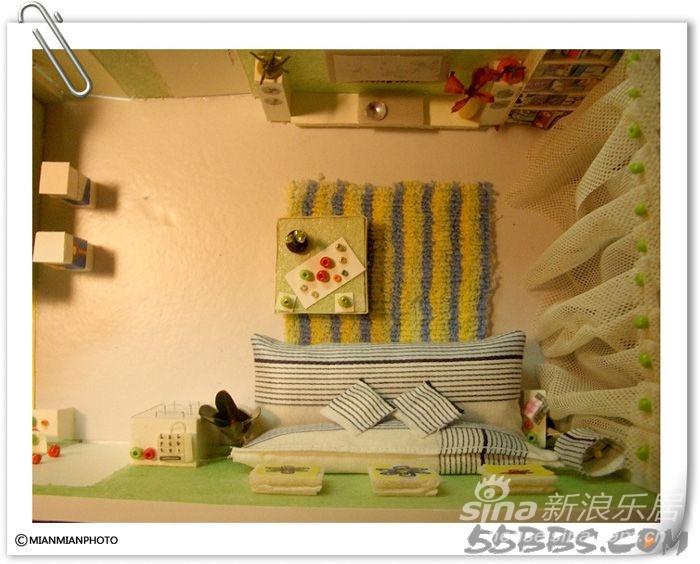 手工做的小房子 送你一个家 30张图片 设计DIY