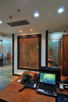 新中式办公室设计高清图片