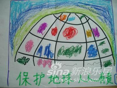 低碳社区行之 低碳环保儿童画作征集