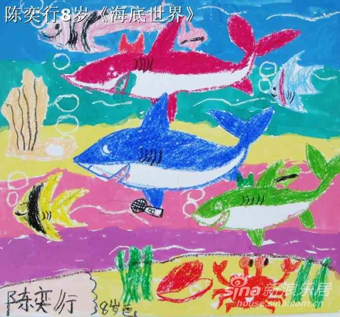 格力地产杯低碳环保之星儿童绘画大赛 六一献礼 作品展出图片