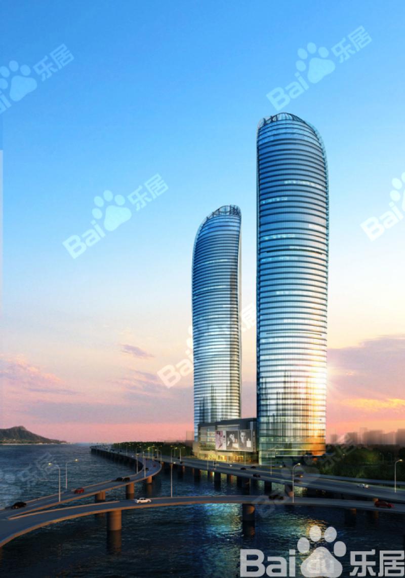 世茂海峡大厦+效果图图片