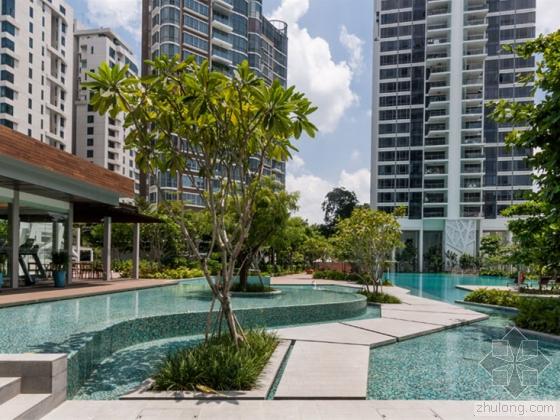 新加坡Cyan住宅景观设计