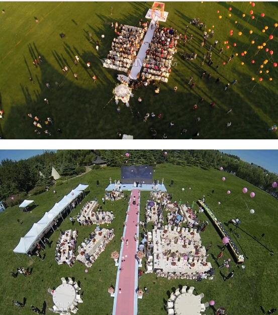 北京无人机航拍婚礼价格亲民