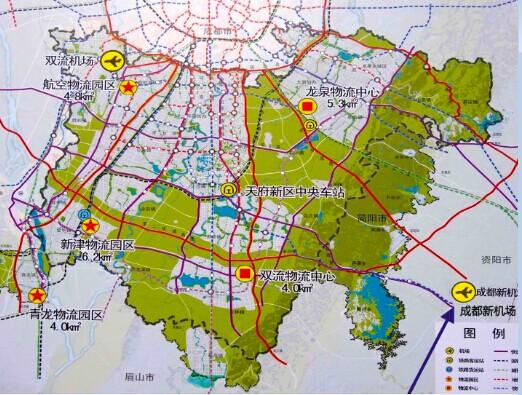 成都简阳机场规划�_四川天府新区规划抬升简阳发展空间_新浪地产网