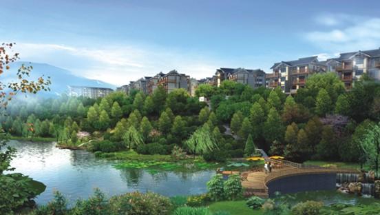 豪琪水云间国际度假村项目位于为黄水镇最佳地段,该项目为石柱县