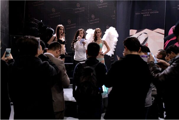 2015上海黑色成人用品展:智情趣产品派乐茉情趣内衣的国际超污