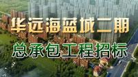 华远·海蓝城二期总承包工程招标