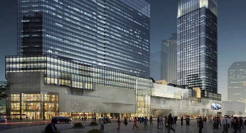 天府星汇广场 重塑昔日染坊街市中心的繁华