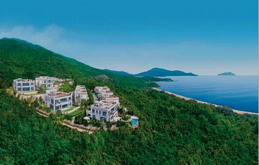 香港botanicabay超豪独栋景观,拥围墙特大与别墅花园别墅海景一线图片
