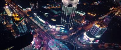 五大国际巨头集结上海合生汇