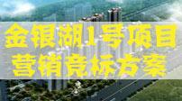 合富锦绣2012年金银湖1号项目营销竞标方案