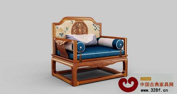 鸿发家具《和合如意单人椅》