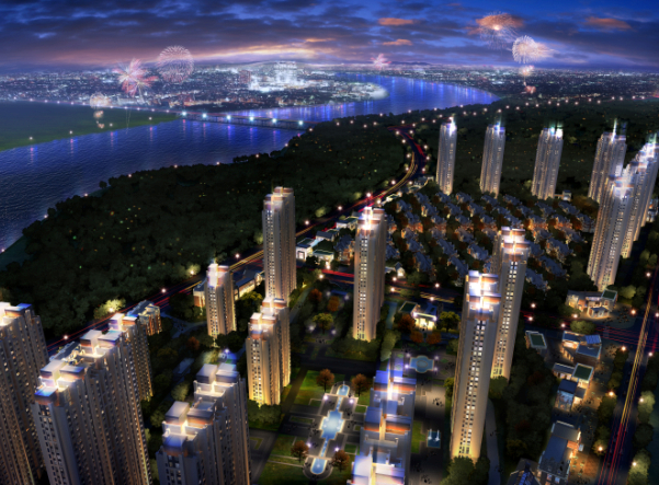 潮白河孔雀城图片